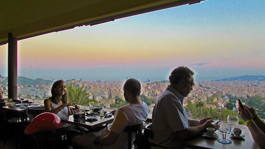 Mirablau Bar Tibidabo Barcelona