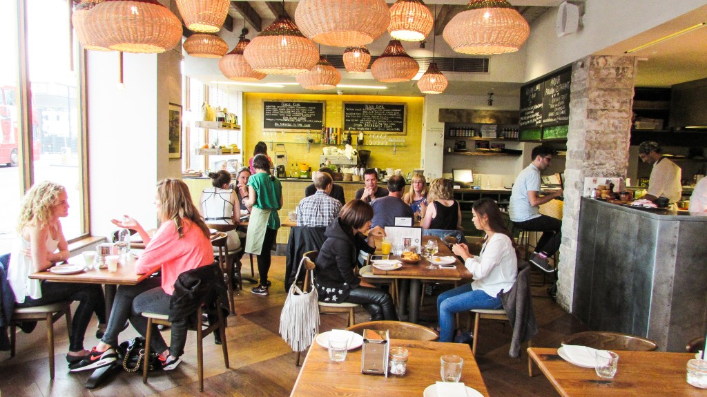 Andina Peruvian Restaurant Upstairs Interior Shoreditch London
