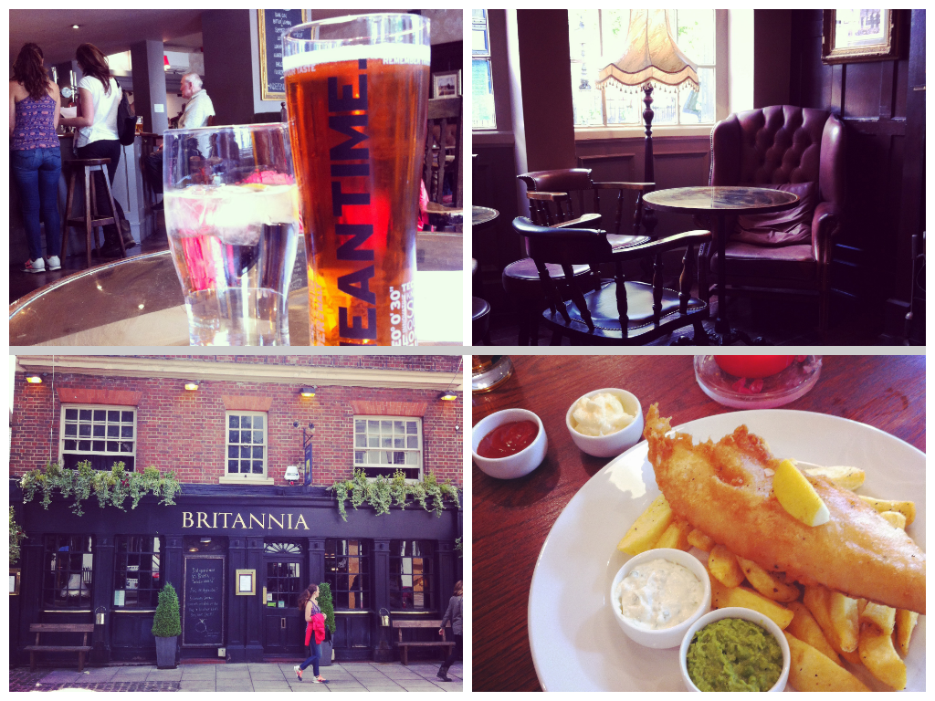 Britannia Pub Kensington London
