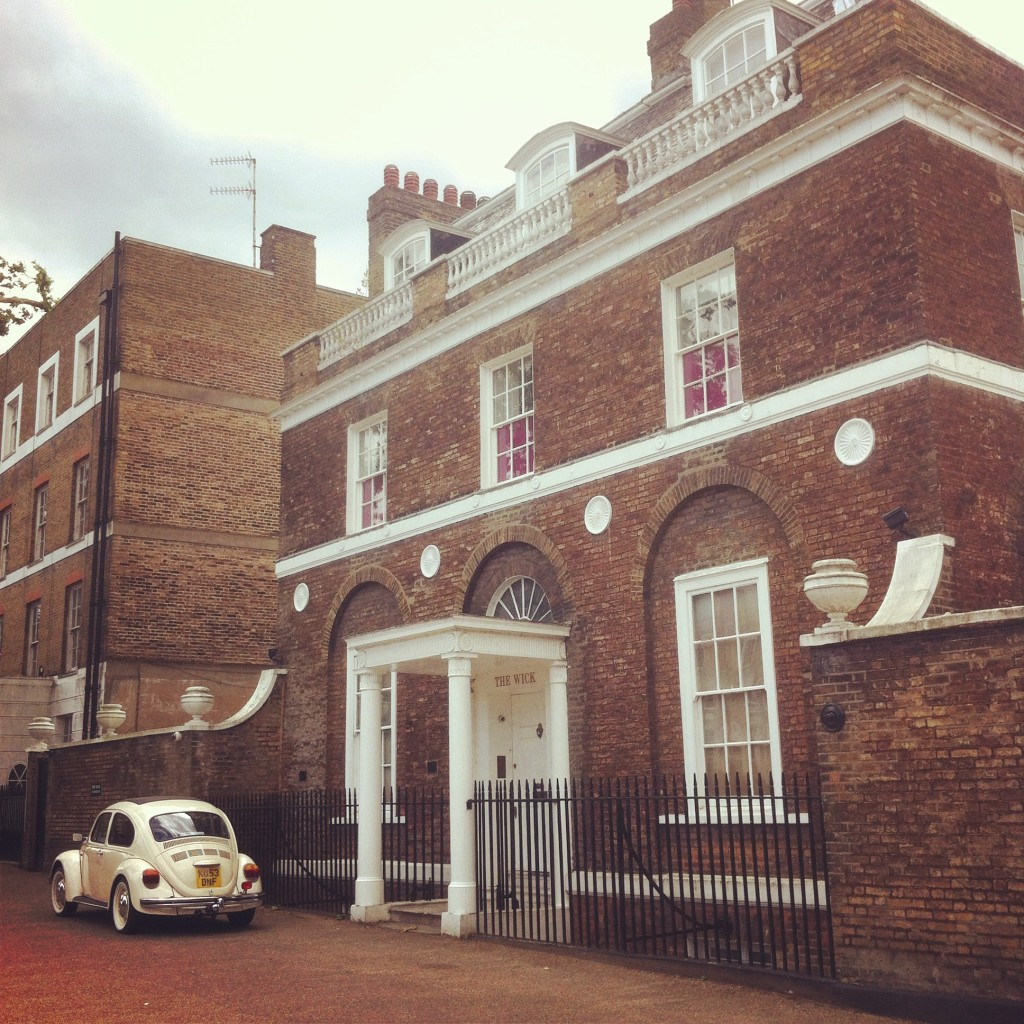 Pete Townshend's house in Richmond Upon Thames, London (The Who guitarist)