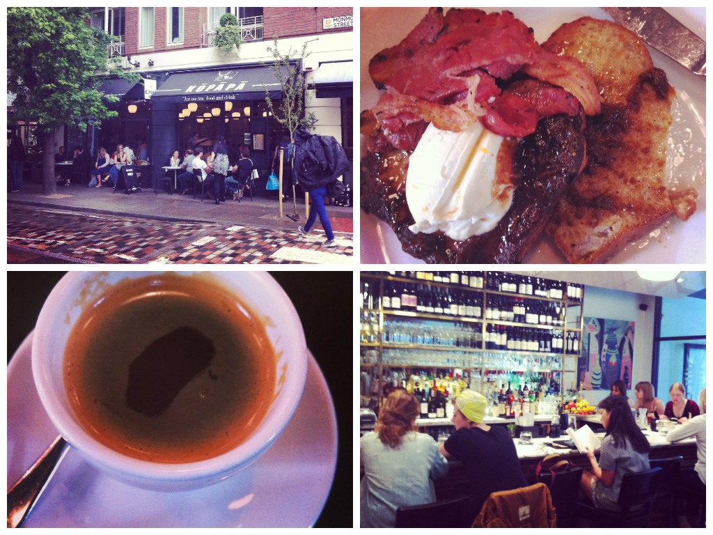 Kopapa Brunch Seven Dials Covent Garden London