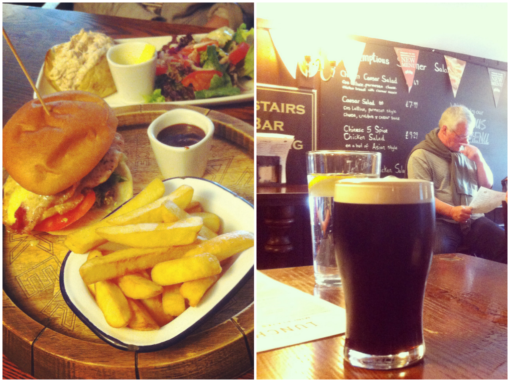 Roebuck Pub Food Richmond, London