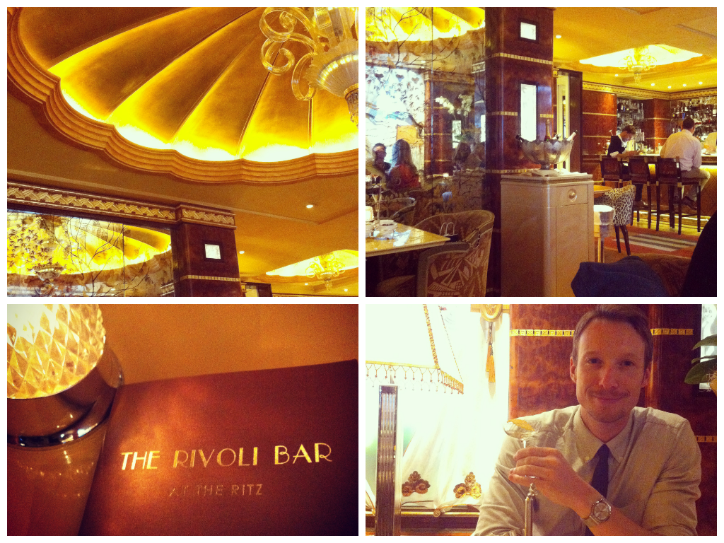 The Rivoli Cocktail Bar at The Ritz Hotel London
