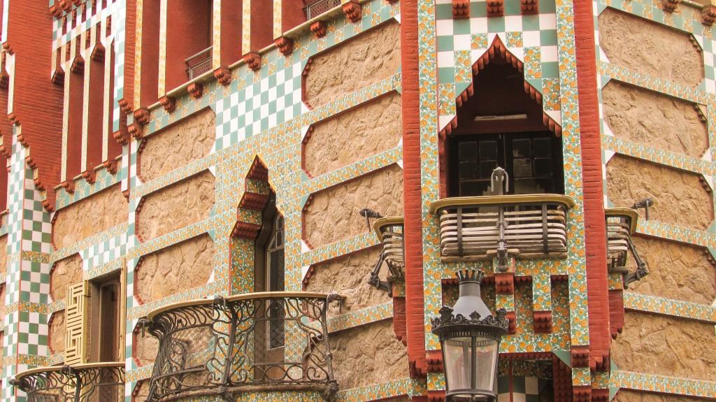 La Casa Vicens - Antonio Gaudi's First Commissioned House in Gracia, Barcelona
