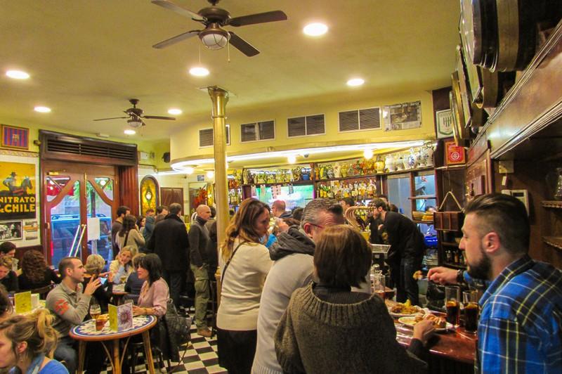 Jai-ca Bar Barceloneta tapas restaurant