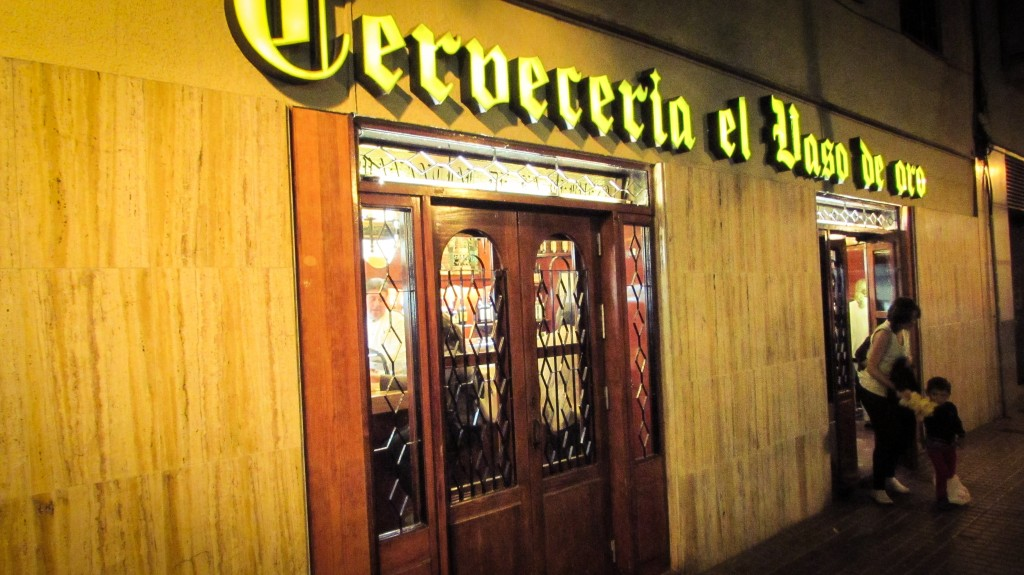 Cerveceria el Vaso de Oro Tapas bar Barceloneta Barcelona