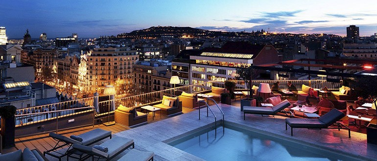 Majestic Hotel & Spa Barcelona 5 star luxury accomodation