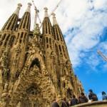 La Sagrada Familia Barcelona Gothic Facade