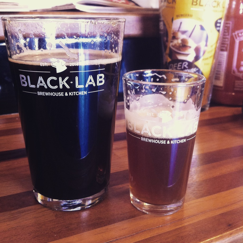 Black Lab Craft Beer Brewpub in Bareloneta beach Barcelona