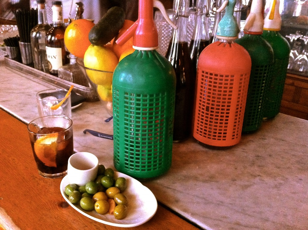 Vermouth bar in Paralel Sant Antoni, Barcelona by the theatre district