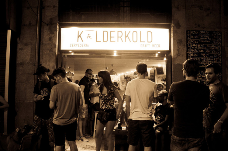 Kælderkold Craft Beer Bar Barcelona Near Las Ramblas