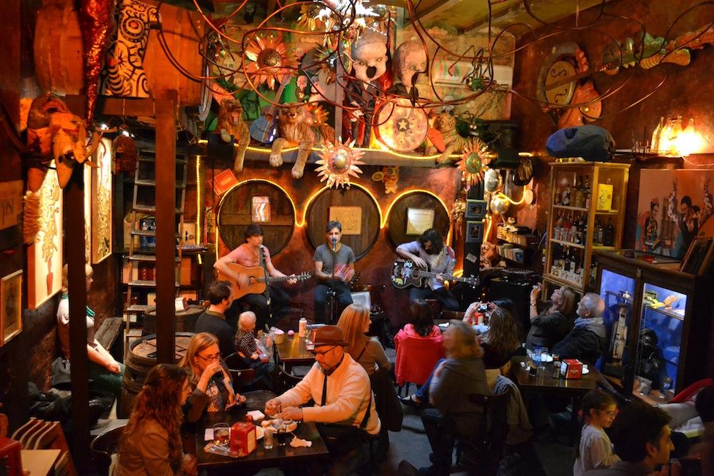 Vermut drinking spot in Poblesec Barcelona