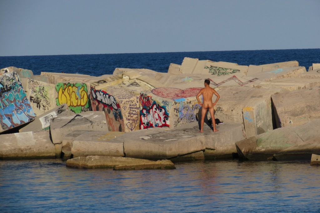 Nudist beaches Barcelona