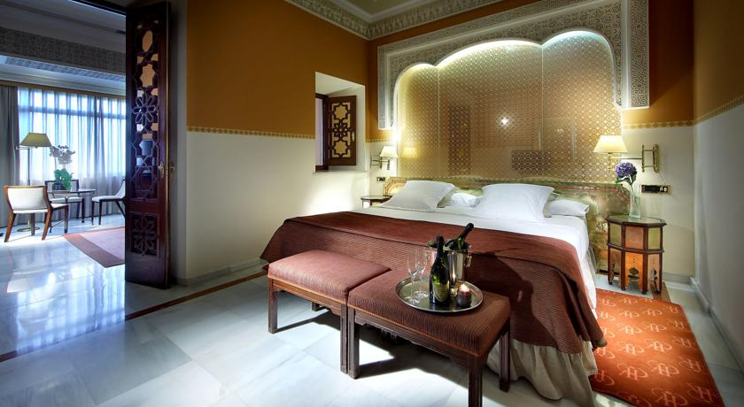 Alhambra Palace Hotel five-star luxury in the Granada Spain city centre