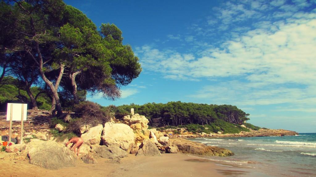Waikiki Beach, Cala Fonda Tarragona Coast, Catalonia Spain
