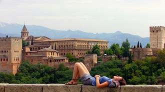 Alhambra Palace Andalucia Spain
