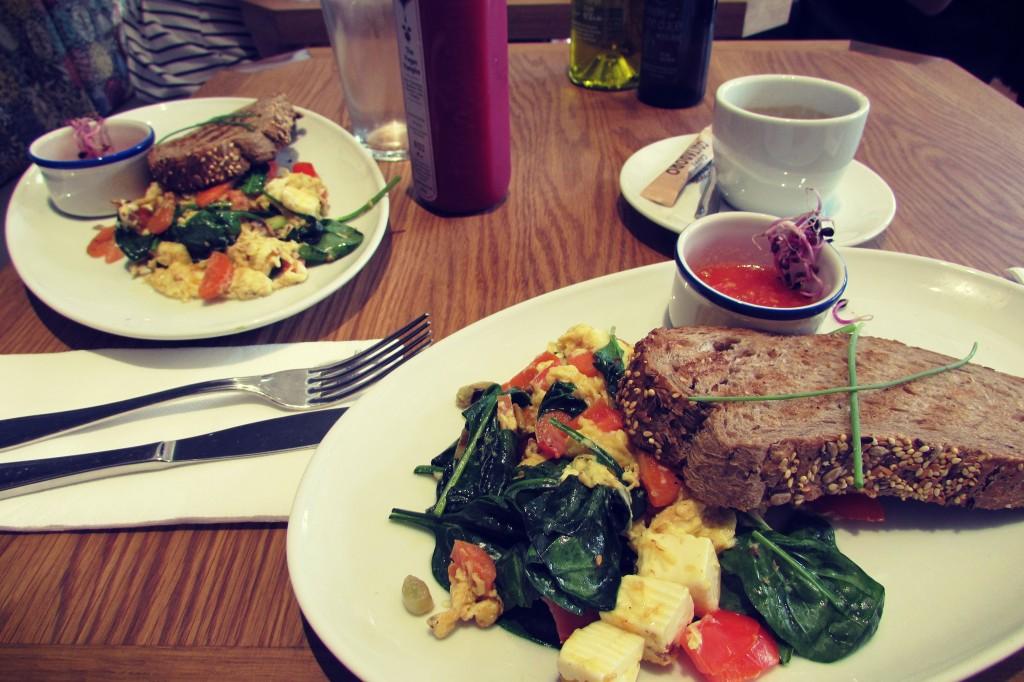 Flax & Kale Vegetarian Vegan Brunch in Raval Barcelona