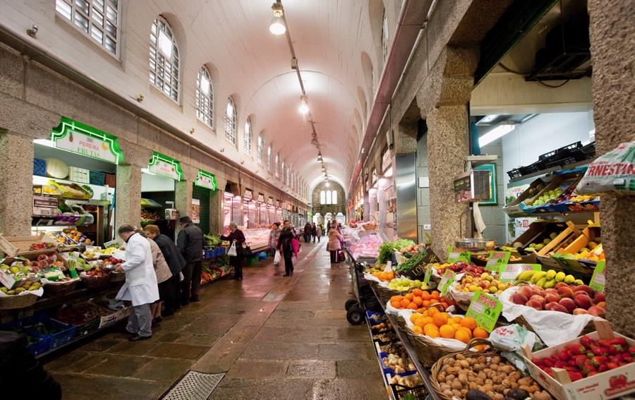 Ourense food market