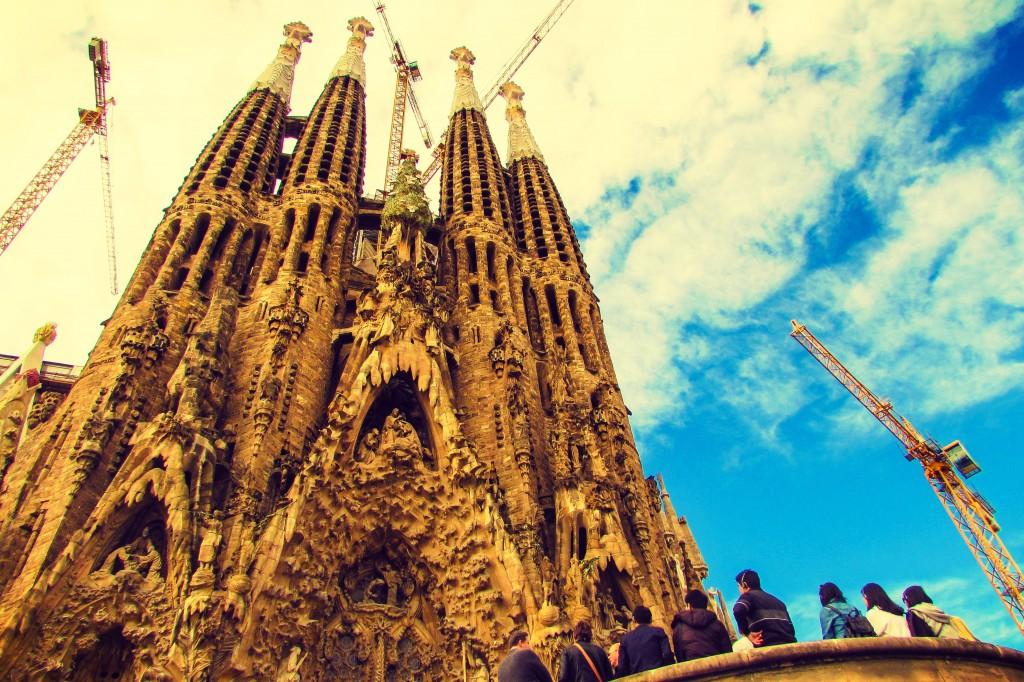 Sagrada Familia's Gothic Nativity Facade