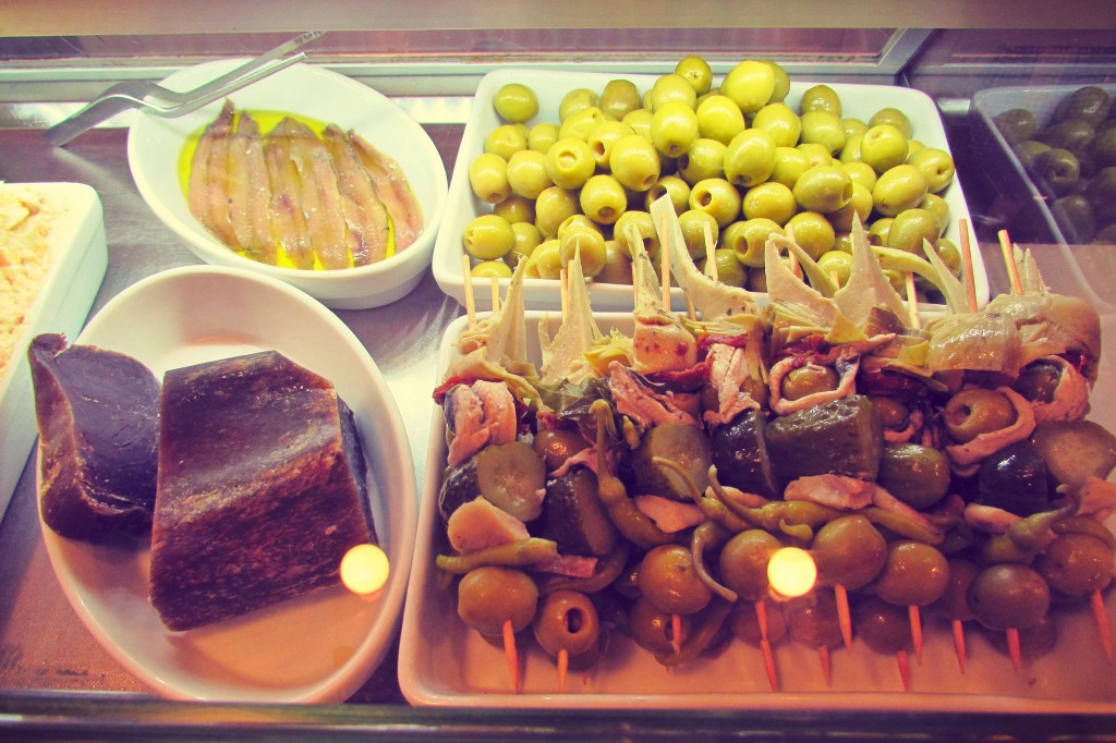 Olives and Conservas - specialities in Spain, by Ben Holbrook