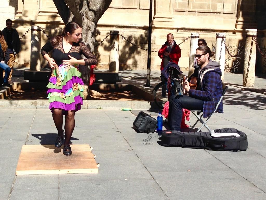 Flamenco in Seville Spain