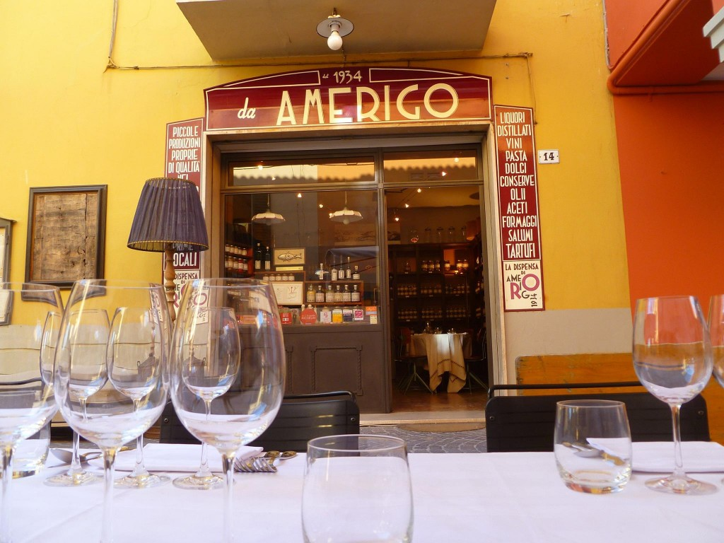 Amerigo 1934 Restaurant in Bologna, Italy
