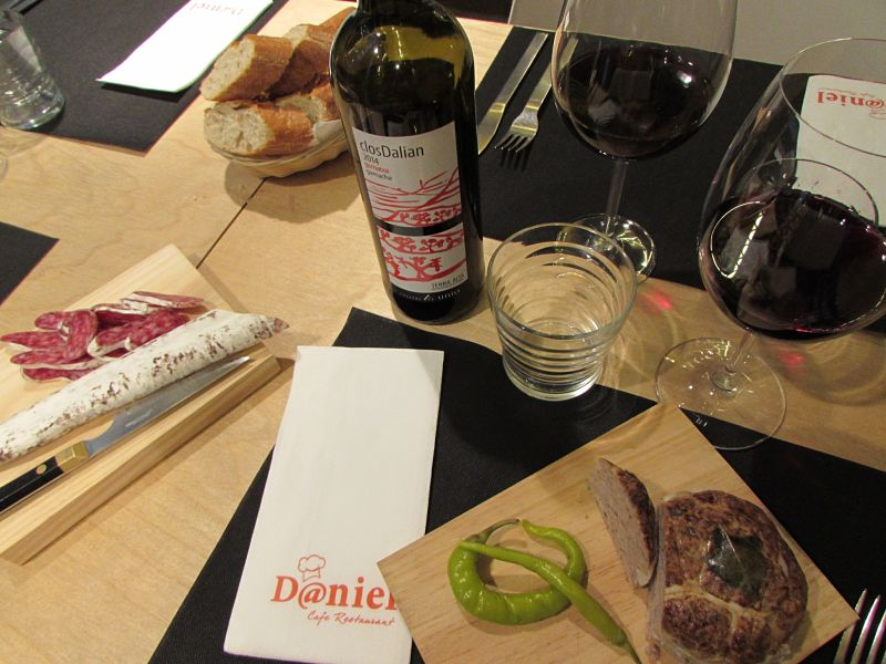 Daniel Cafe Restaurant, Poblenou Barcelona