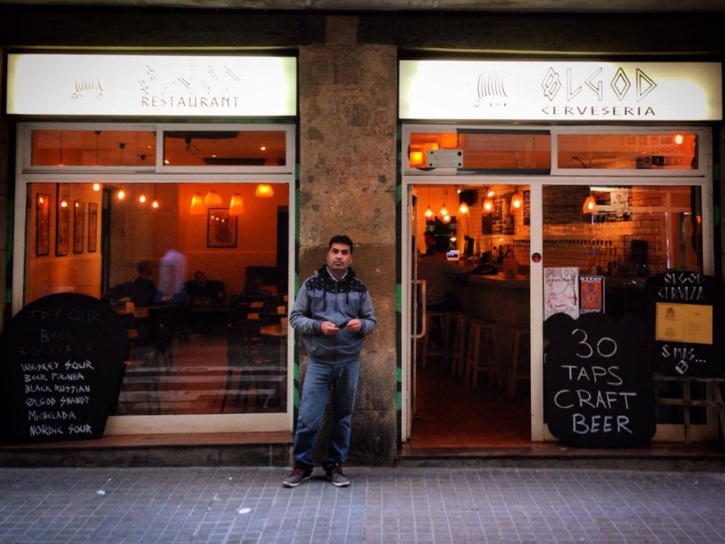 Ølgod craft beer bar Raval Barcelona - C/ Hospital 74 Barcelona Exterior Photo