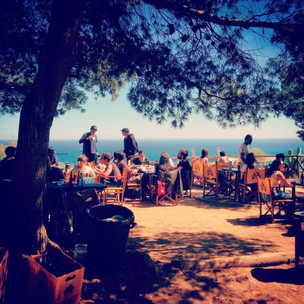 La Caseta Del Migdia Montjuic Relax At Barcelona S Secret Clifftop