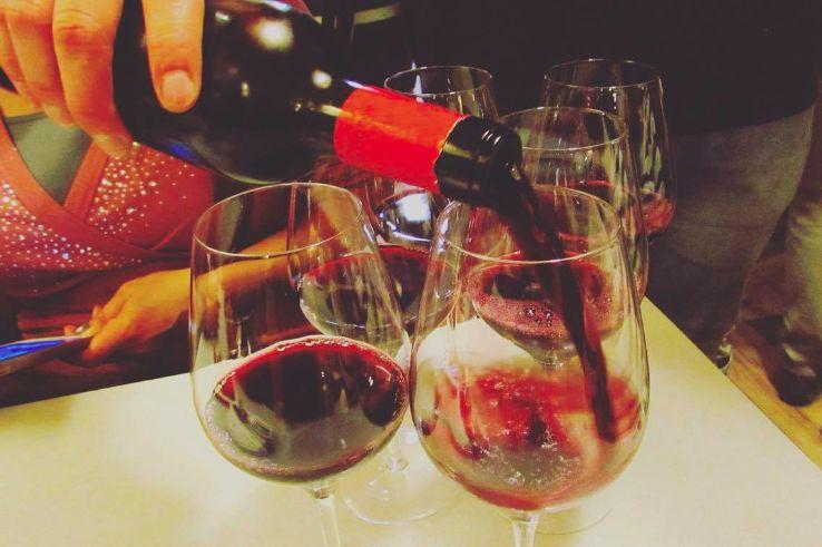 Red wine from Barcelona's Priorat DO wine region...
