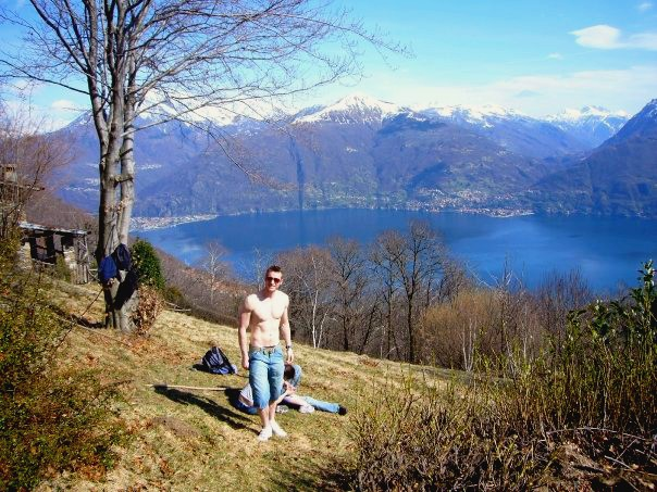 The trip that made me decide to move abroad... Lake Como, Italy, Circa 2008/9