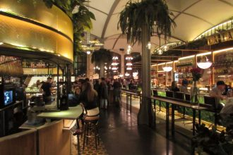 Tapas bar in El Nacional food hall Barcelona