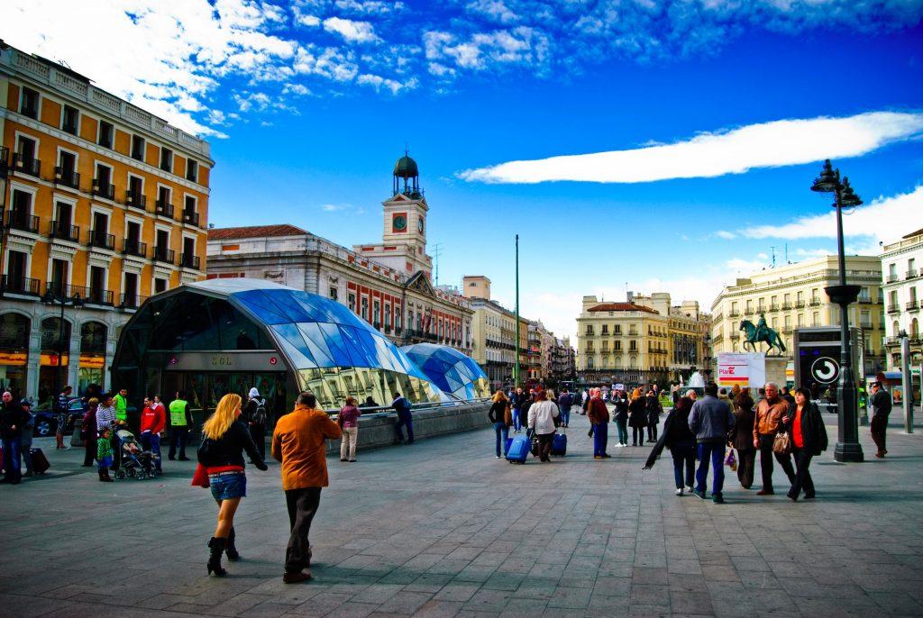 Puerta_del_Sol Madrid
