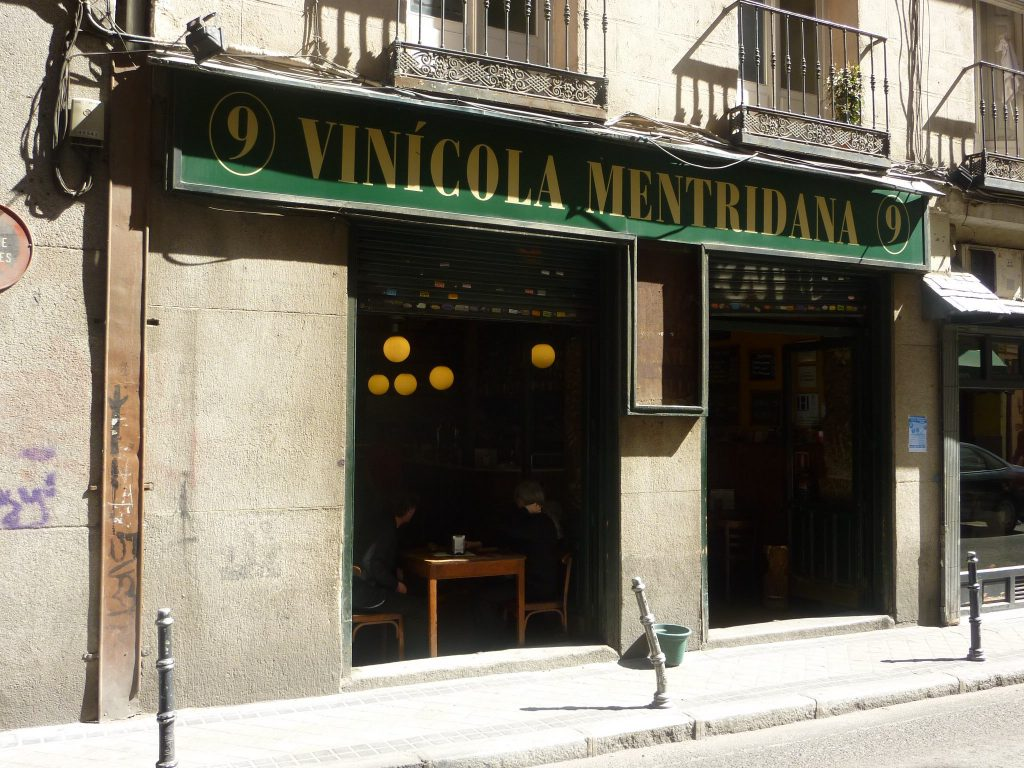 Vinícola Mentridana Wine Bar Madrid