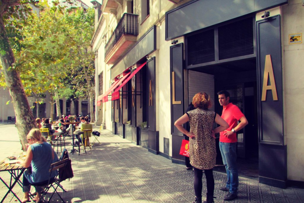 Sant Antoni hipster area Barcelona