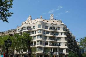 Antoni Gaudi's Casa Mila (AKA La Pedrera)
