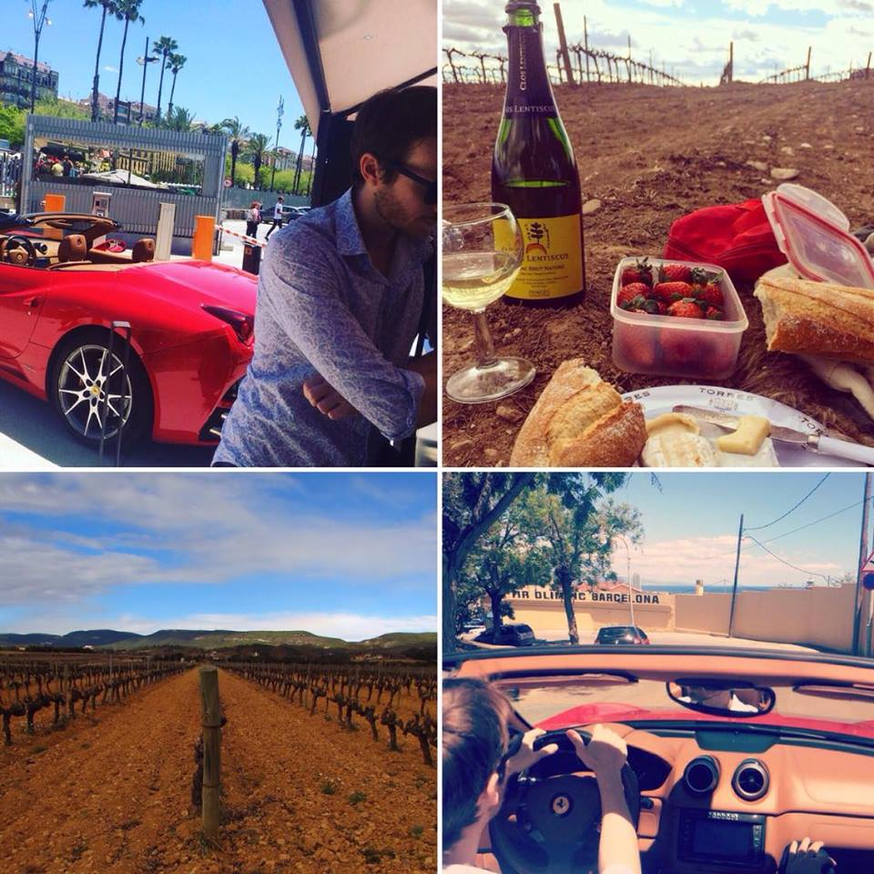 Drive Me Ferrari and Picnic in Penedes Experience ~ Credit Ben Holbrook
