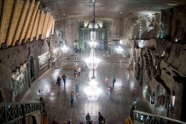 Wieliczka Salt mine Cave Church