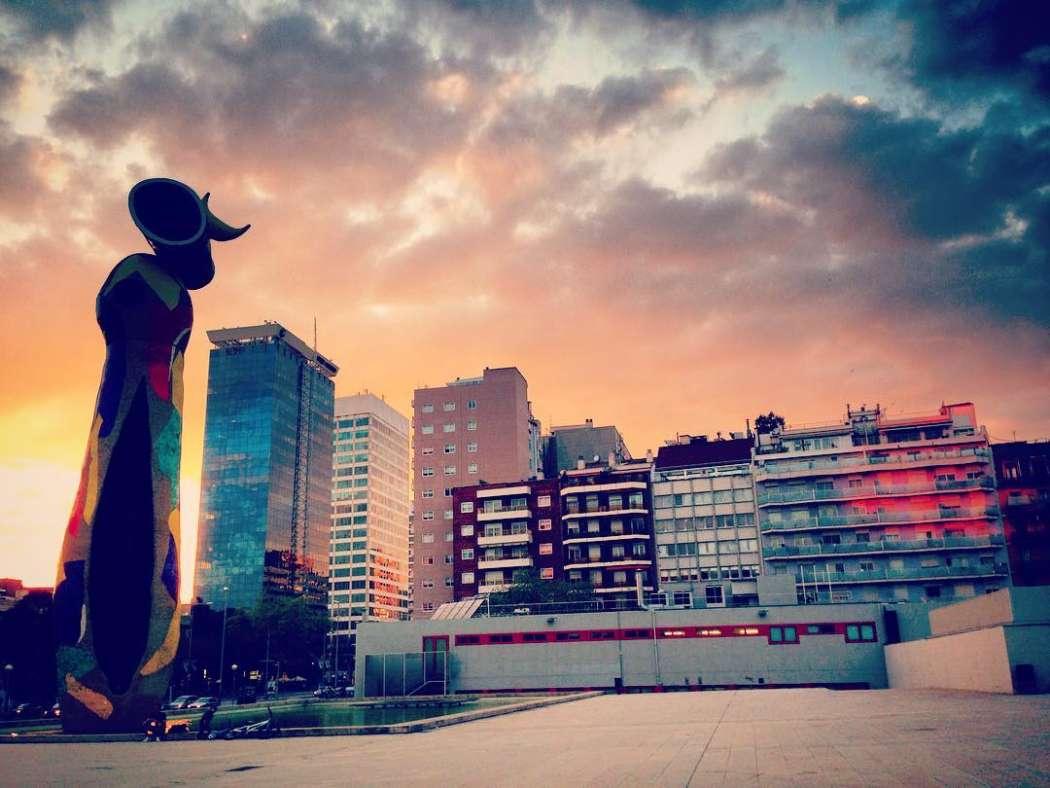 Parc Joan Miro, Barcelona