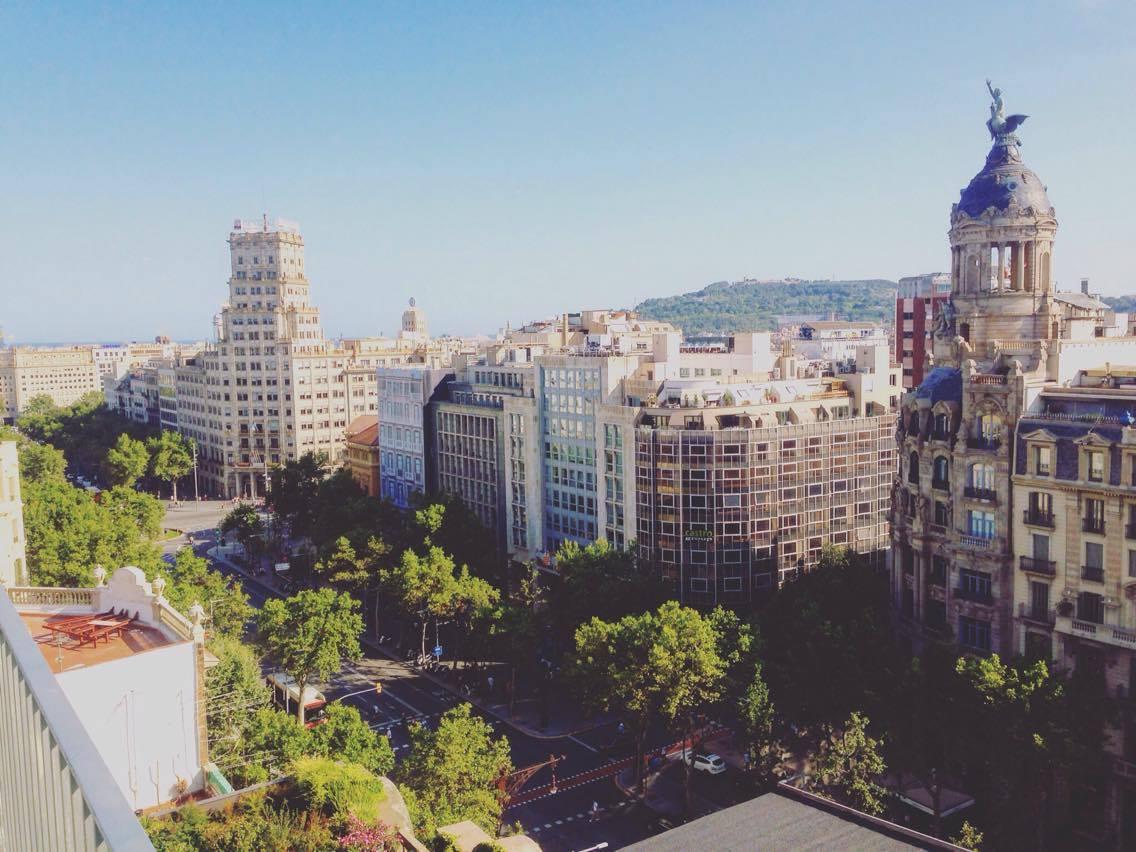 Barcelona Mandarin Hotel's exclusive rooftop 'Terrat' terrace