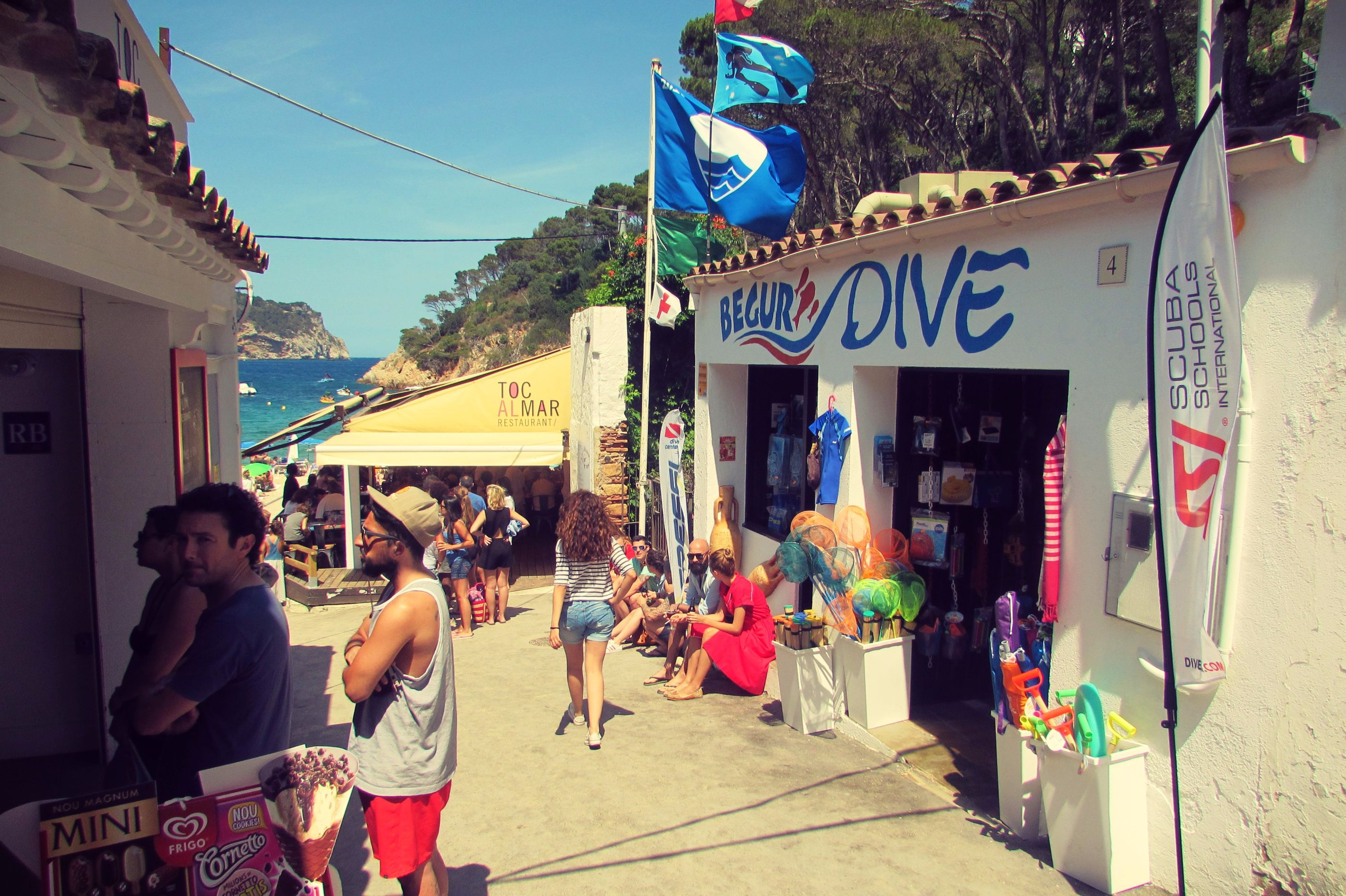 Begur Diving, Aiguablava, Costa Brava, Catalonia,
