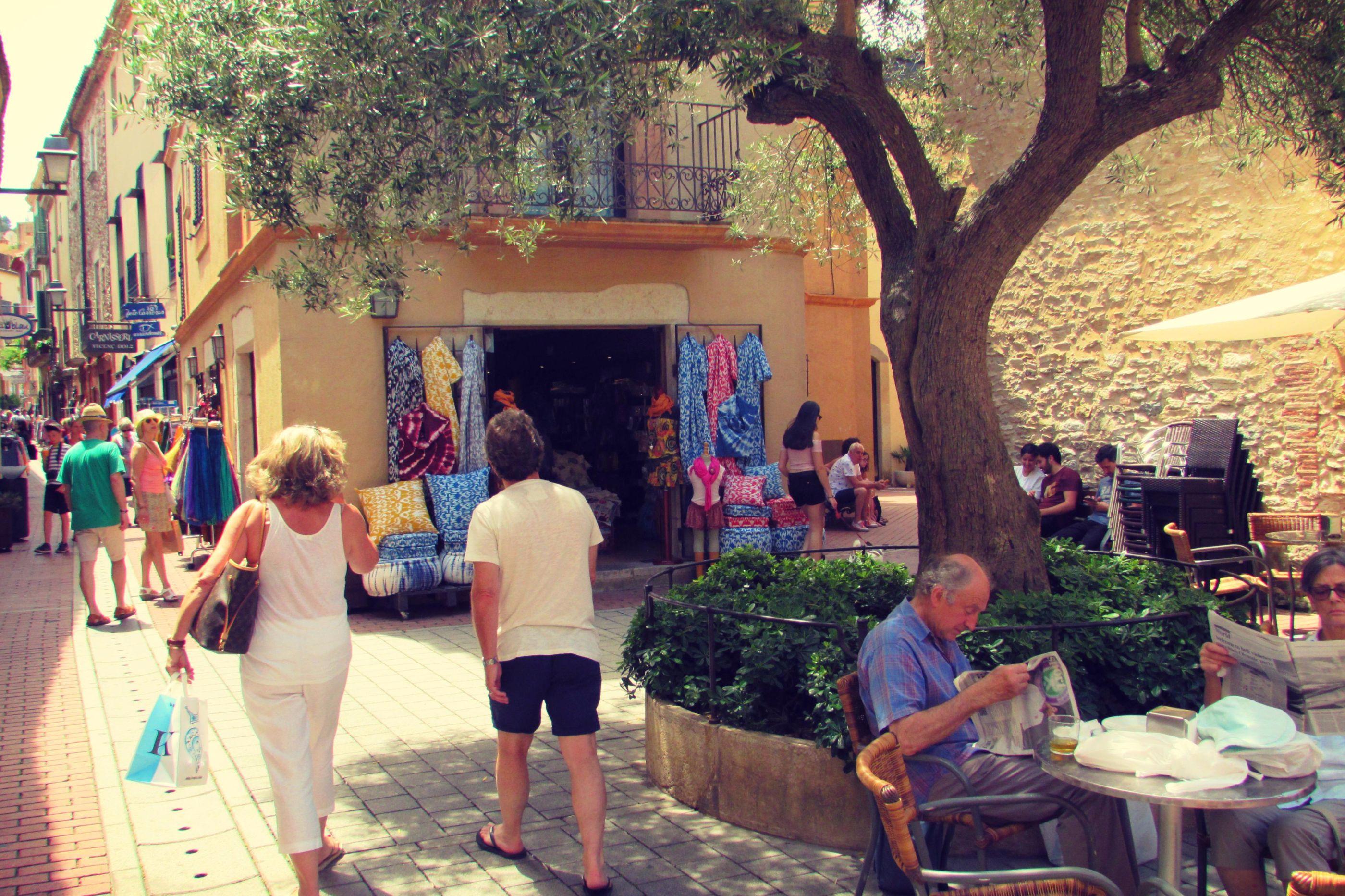 Begur Town, Costa Brava, Catalonia Bike Touring