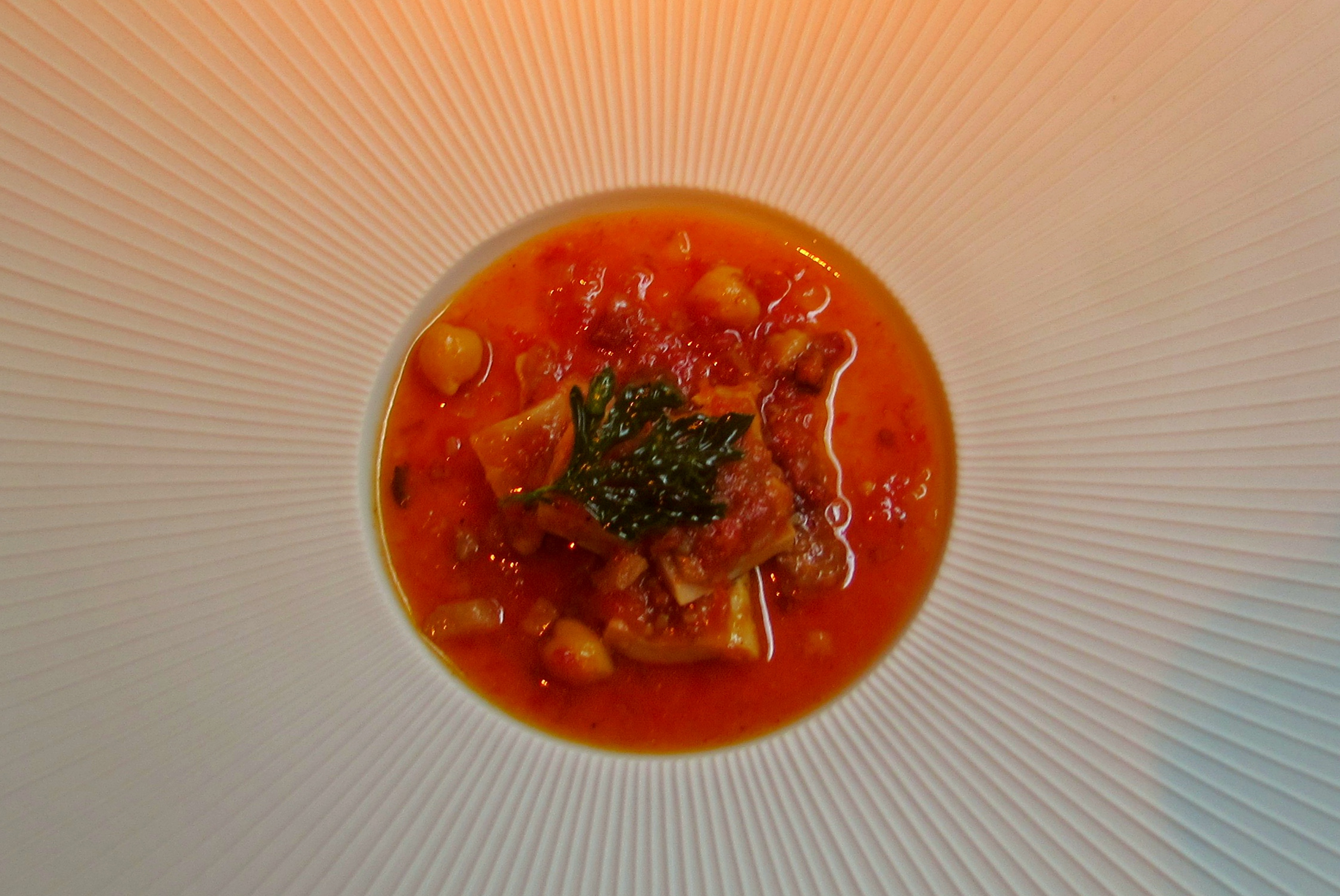 Madrid in a dish at Moments chorizo and cod