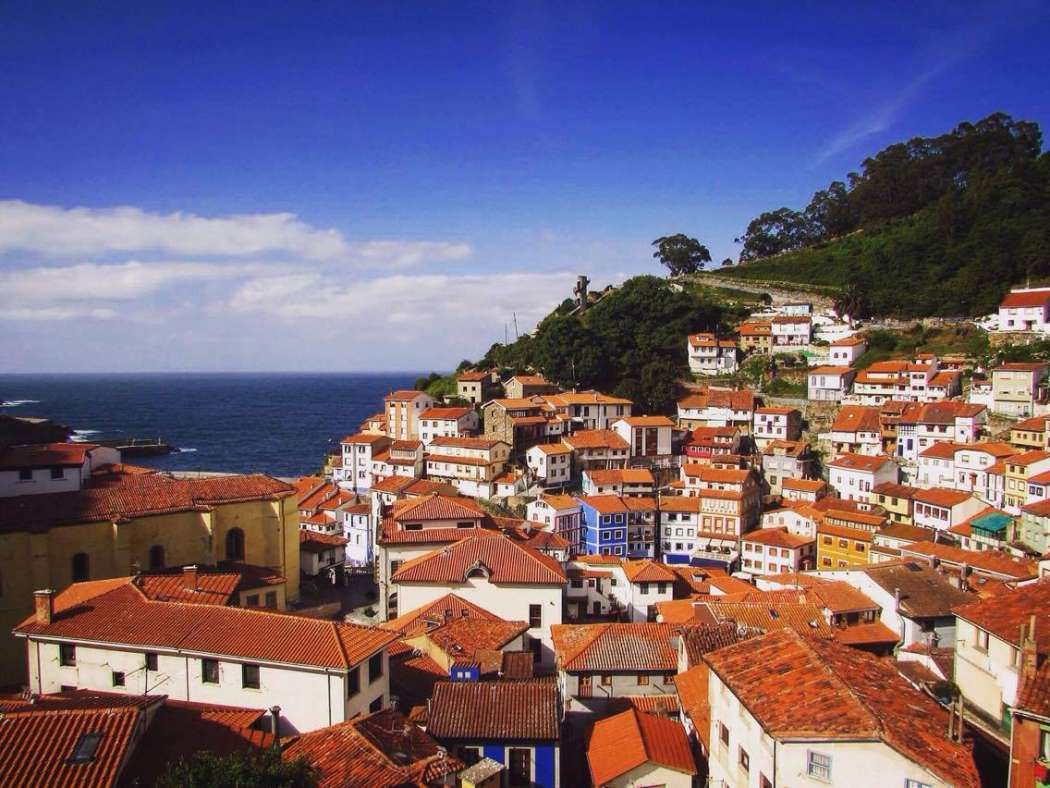 Fisherman's Village of Cudillero, Asturias