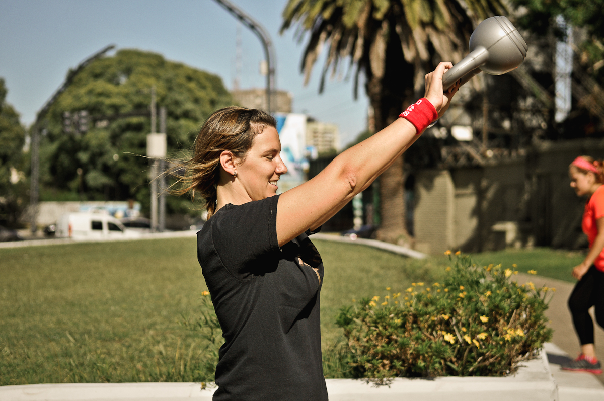 Outdoor fitness classes in Barcelona with Ebylife