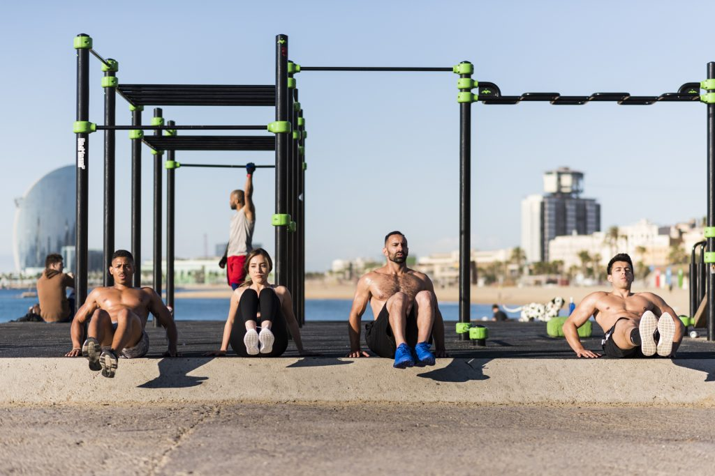 Barcelona Free Fitness Bootcamp at the Beach