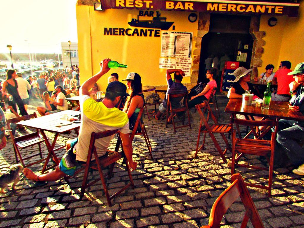 Cuesta del Cholo in the Cimavilla, Gijon's old fishermen's quarter