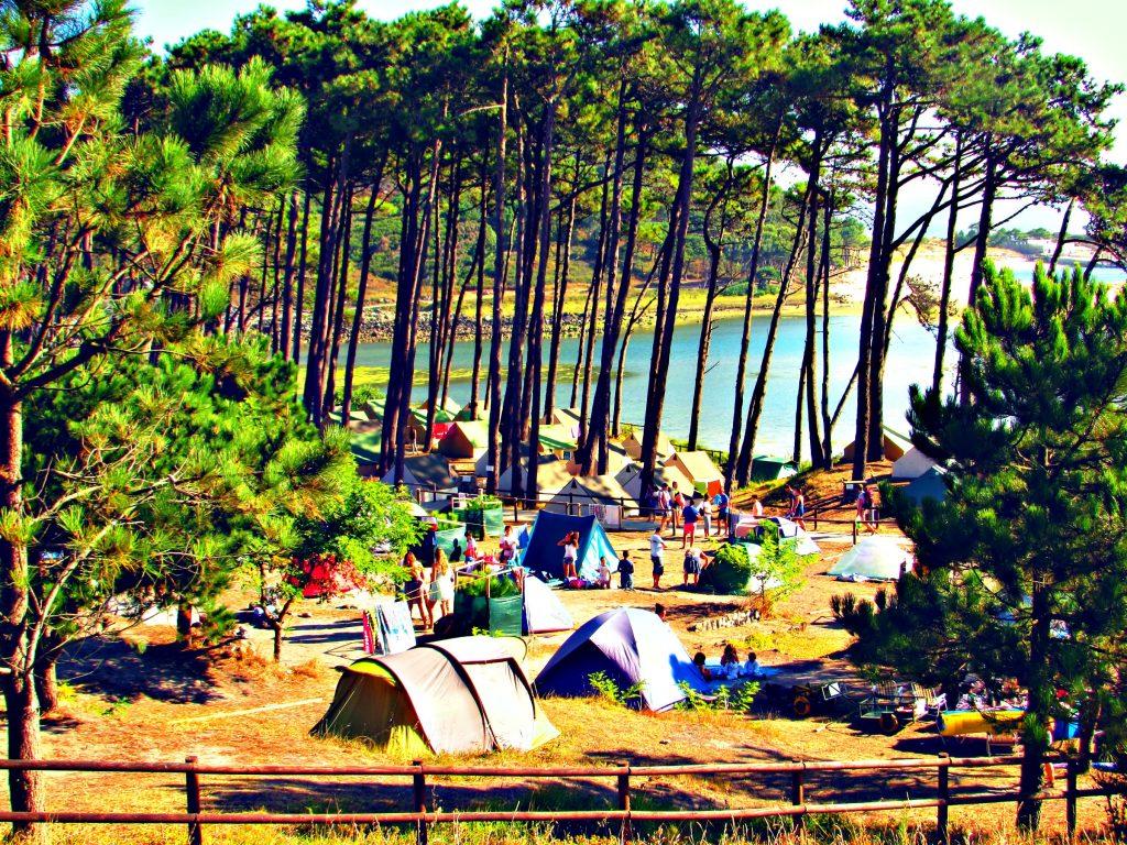 Cies Island - Vigo Galicia - Campsite
