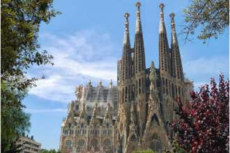 sagrada-familia-with-the-barcelona-city-pass-card