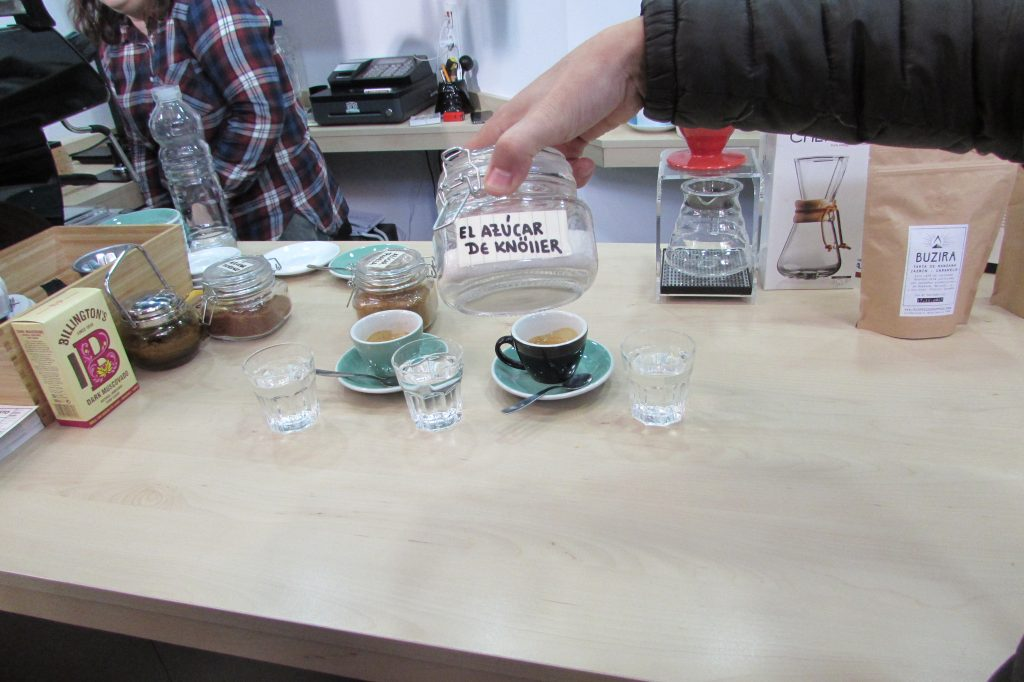 Retrogusto Coffee Mates in Valencia Central Market ~ Third Wave Coffee Shop in Valencia